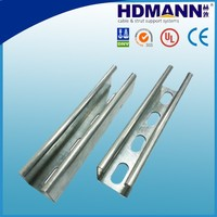 slotted strut channel and accessories