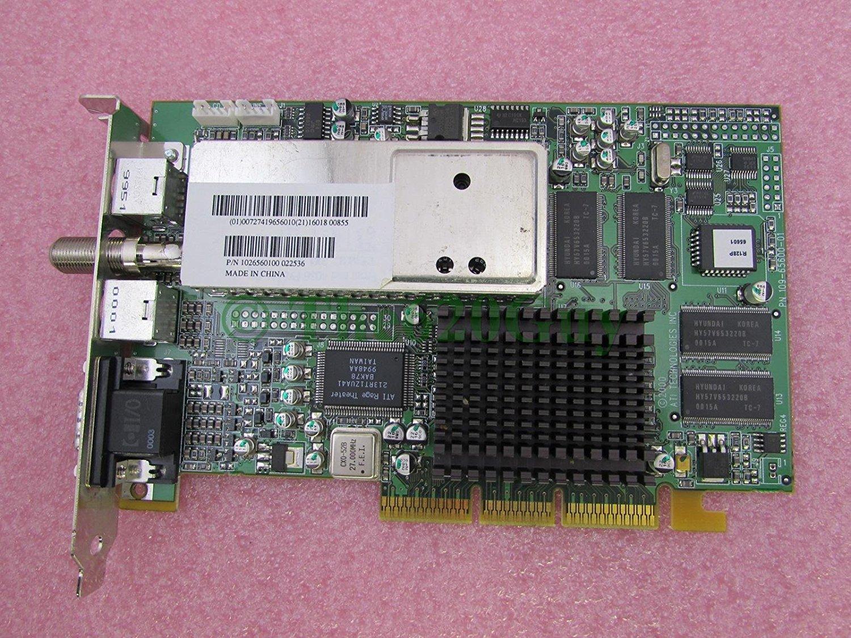 P//N:1027270109 ATI 109-72700-02 GRAPHICS RAGE 128 PRO AGP VIDEO ADAPTER