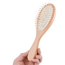FQ brand professional custom OEM logo wooden hair brush