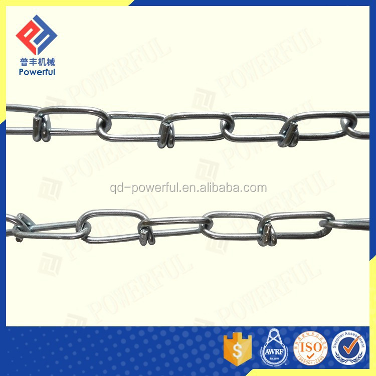 USA STANDARD DECORATIVE DOUBLE LOOP CHAIN