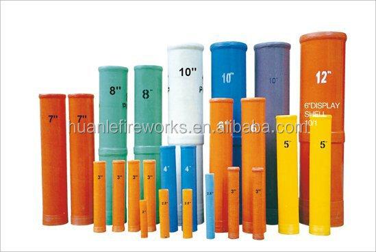 Display Shell Professional Fibreglass Shell Mortar Tubes High ...