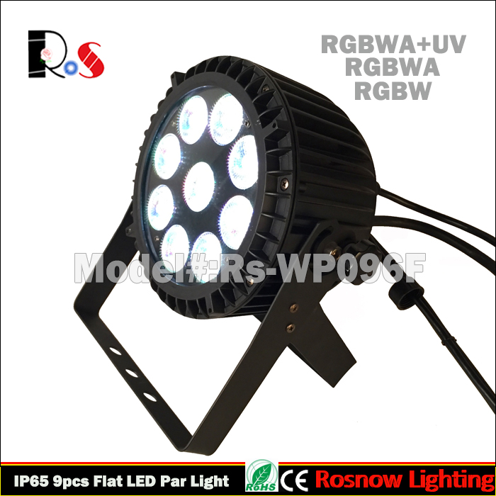 dmx512 waterproof dj uplight rgbwa+uv leds outdoor par64 for wedding events