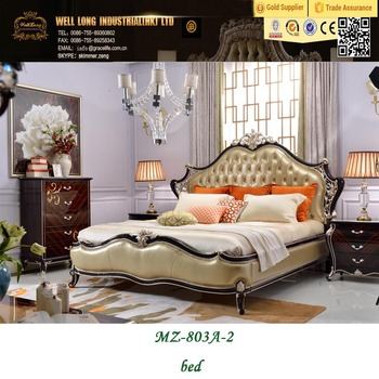 Baroque Style Luxury Bedroom Furniture,Wood Carving Bedroom ...