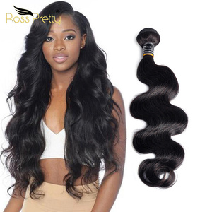 Ross Pretty Remy Brazilian Body Wave Human Hair Extension Natural Black 8inch to 30inch Hair Bundle