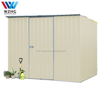 Outdoor Metal Garden Shed House,Easy Assembly Outdoor Storage Shed Garden Shed