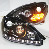 For Mercedes-benz W220 S280 S320 S500 S600 Head Lamp 1998 To 05 ...