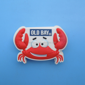 cute rubber shape custom logo soft pvc fridge magnet sticker wholesale