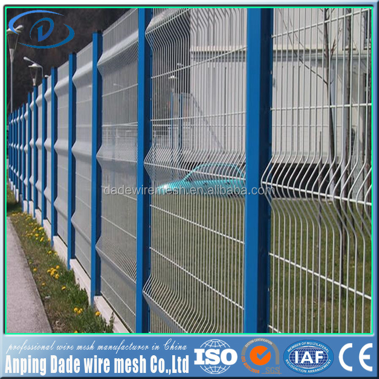 Hot sale Industrial safety welded wire fence livestock metal fence panels