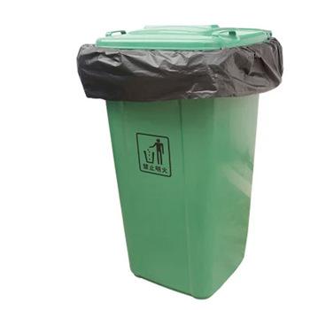 55 Gallon Trash Bags Heavy Duty LDPE LLDPE Interleaf Black