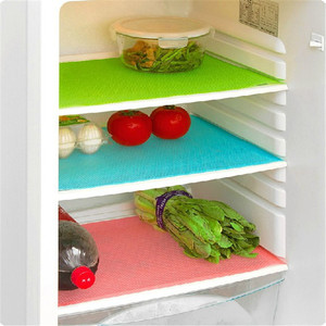 High quality Multifunction Refrigerator Mat Fridge Anti-fouling Anti Frost Waterproof Pad Kitchen Table Eat Mats