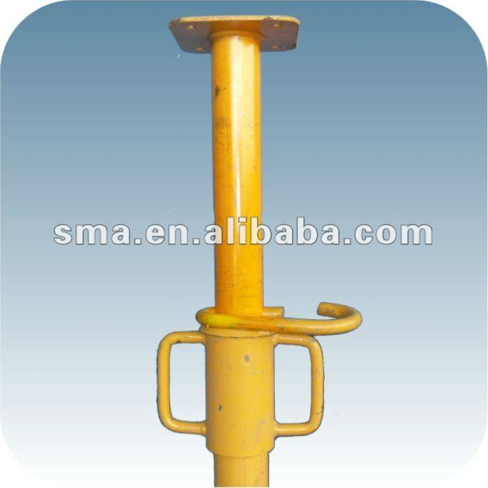 Construction Support Scaffolding System Easy Install Adjustable Steel Shore Props