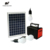 Affordable solar lighting system with 12 V solar DC 팬 10 W solar panel system