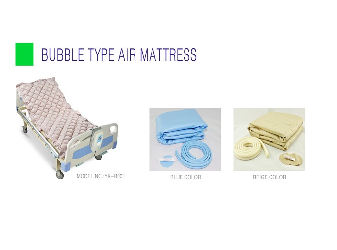 Anti bedsore & anti decubitus alternating pressure medical air mattress
