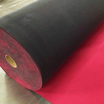 Protective Rubber Floor Protector Neoprene Floor Runner Red Color