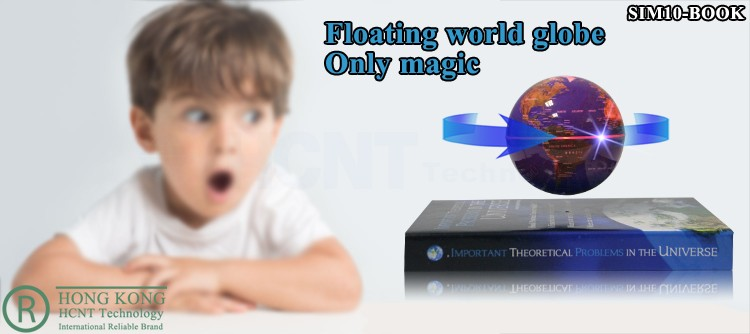 Levitation globe with lights for Christmas Decoration Supplies and kid gifts
