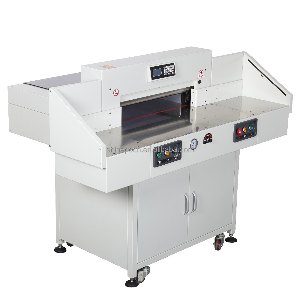 Hydraullic Programmable 480 to 720mm Electric Paper Guillotine Cutting Machine