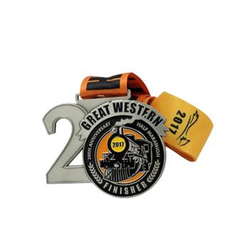 Wholesale Custom multifunctional 5k 10k sports speed beer run race novelty bottle opener medal