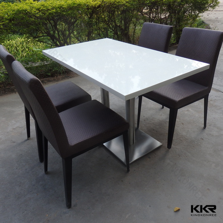 Commercial Dining Tables Cafe Chair Table Set