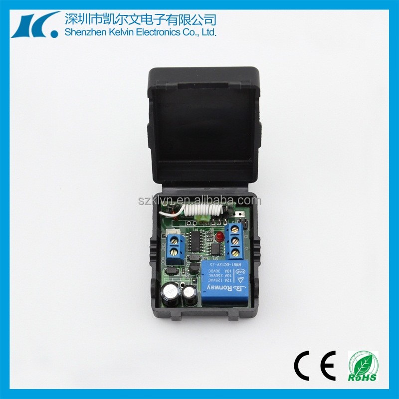 DC12V 433.92mhz Learning code 1000m Distance Wireless Remote Control Switch KL-K103X
