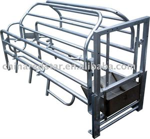 Animal cages Farrowing Crate For Sow