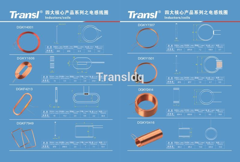Litz Wire / Enamelled Wire/ Silk-covered Wire Coil Rfid Antenna Coil ...