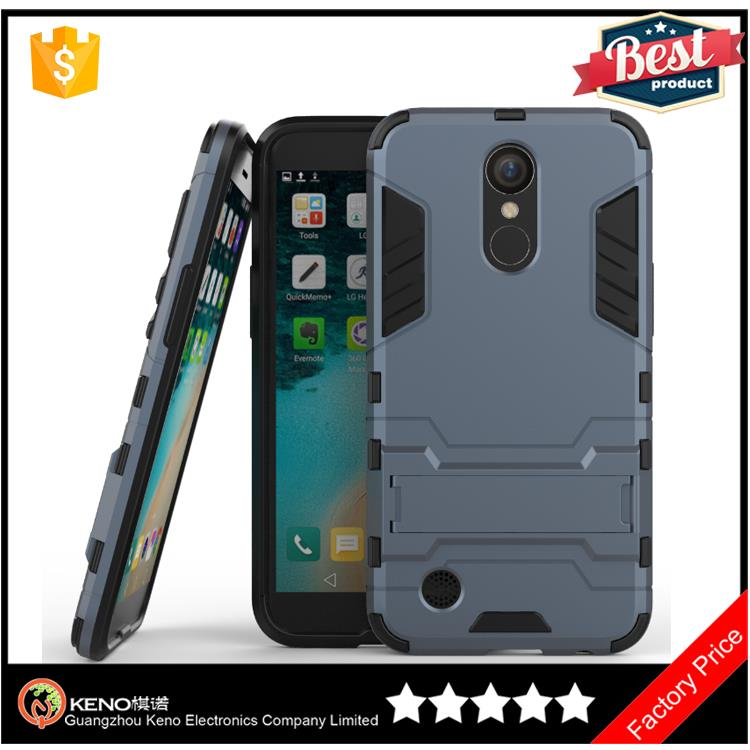 Hot selling 2017 Armor bear Hot Mobile accessories 2 IN 1 Case for LG K20 Plus