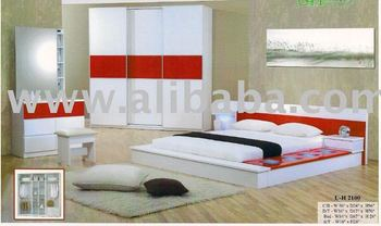 Moderne slaapkamer japanse bed houten bed buy product on alibaba.com