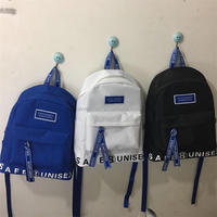 New harajuku letters printing backpack school of large capacity wind couple travel backpack laptop bag