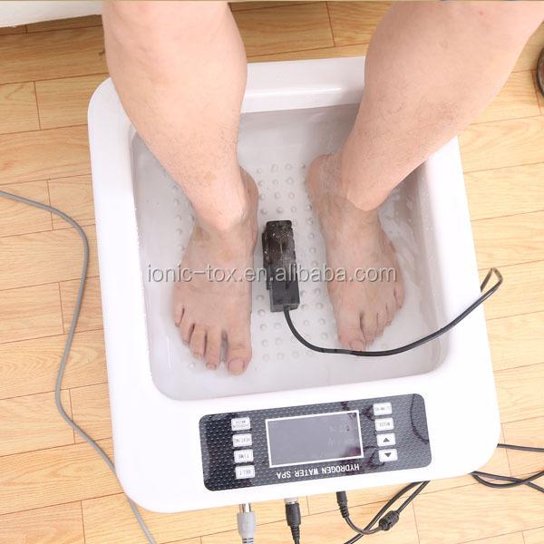 New Tub Ion Ionic Detox Foot Bath Cleanse Spa Machine Oh-301-c ...