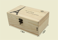 Customized solid wood sewing box