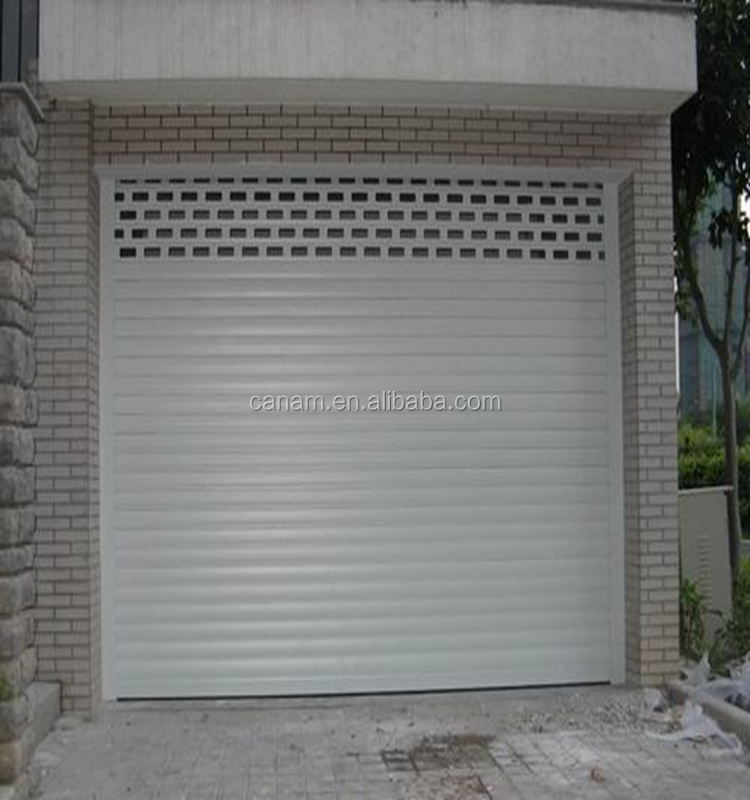 hot sell automatic aluminum rolling garage door design