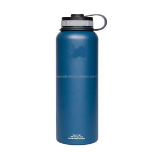 40oz Hydro Insulated Stainless Steel Bottle, 40 Oz Insulated Stainless Steel Water Bottle - Double Wall Vacuum Sealed bottle