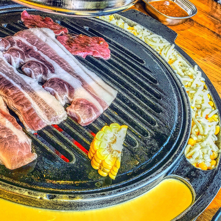 round egg cake grill pan and bbq grill plate