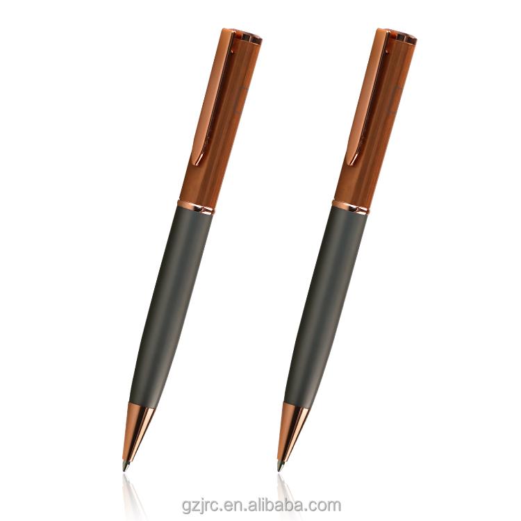 تعزيز الفاخرة مجموعة أقلام هدية كرة دوارة معدنية القلم مع شعار مخصص