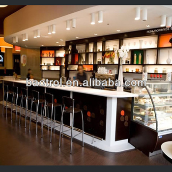 Hot Selling Coffee Bar Counter Modern Commercial Coffee