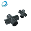 High quality cross connector pressure HDPE pipe fittings