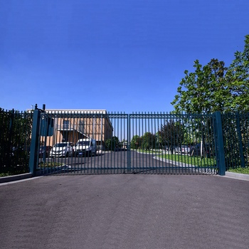 Eco Friendly Feature Sliding Driveway Gate Security Wrought Iron Main Designs For