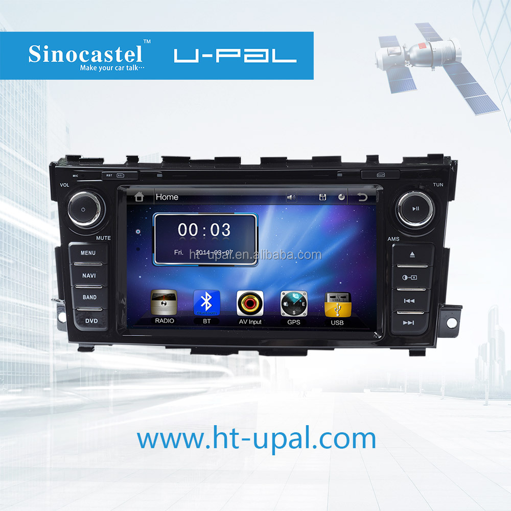 Car GPS Navigation System for Teana 2013 with 2din DVD, BT, iPod, Radios, Bluetooth Telephone Book