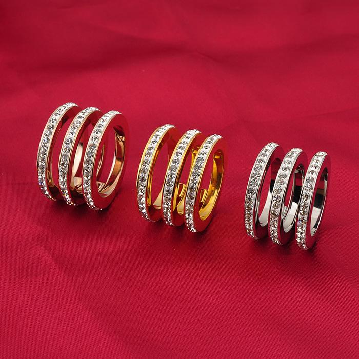 Big 18k Jewelry Beautiful Diamond New Simple Fancy Latest Ladies ...