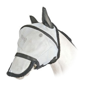 Fly Mask with Nose Piece for Horse