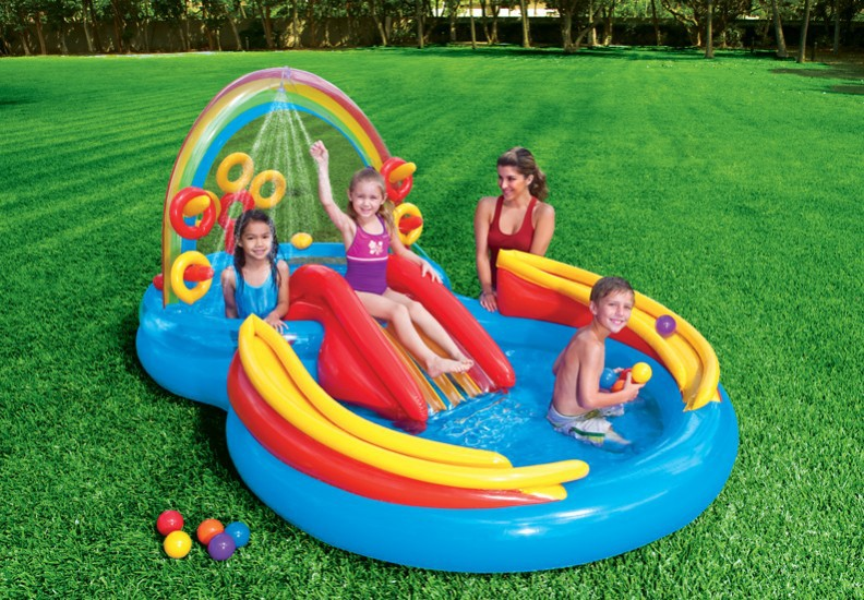 Latest Design Outdoor Baby Pool Children Inflatable Mini