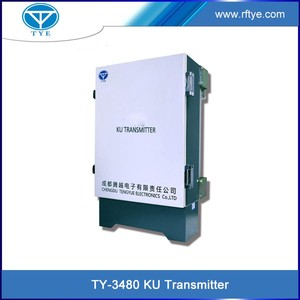TY-3480 8w ku band satellite tv transmitter and receiver