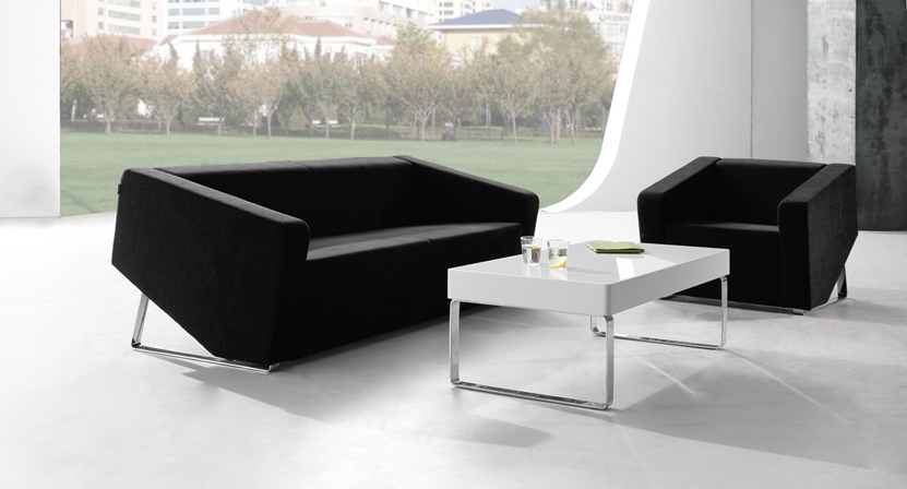 Fantaisie design moderne alibaba tissu canapé meubles bureau