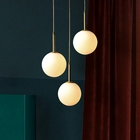 dinning coffee shop restaurant lobby contemporary commercial led bubble pendant lighting