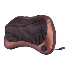 Full body head back neck rolling Kneading massager / Car &Home Shiatsu Massage Pillow with heating