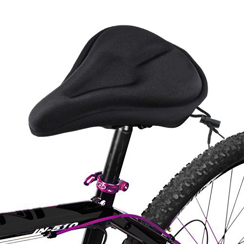 """Premium Gel Bike Seat Cover by VivoPro Sports 