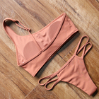 2019 One Shoulder Swimming Suit Swimwear custom sexy girl Bathing Suit