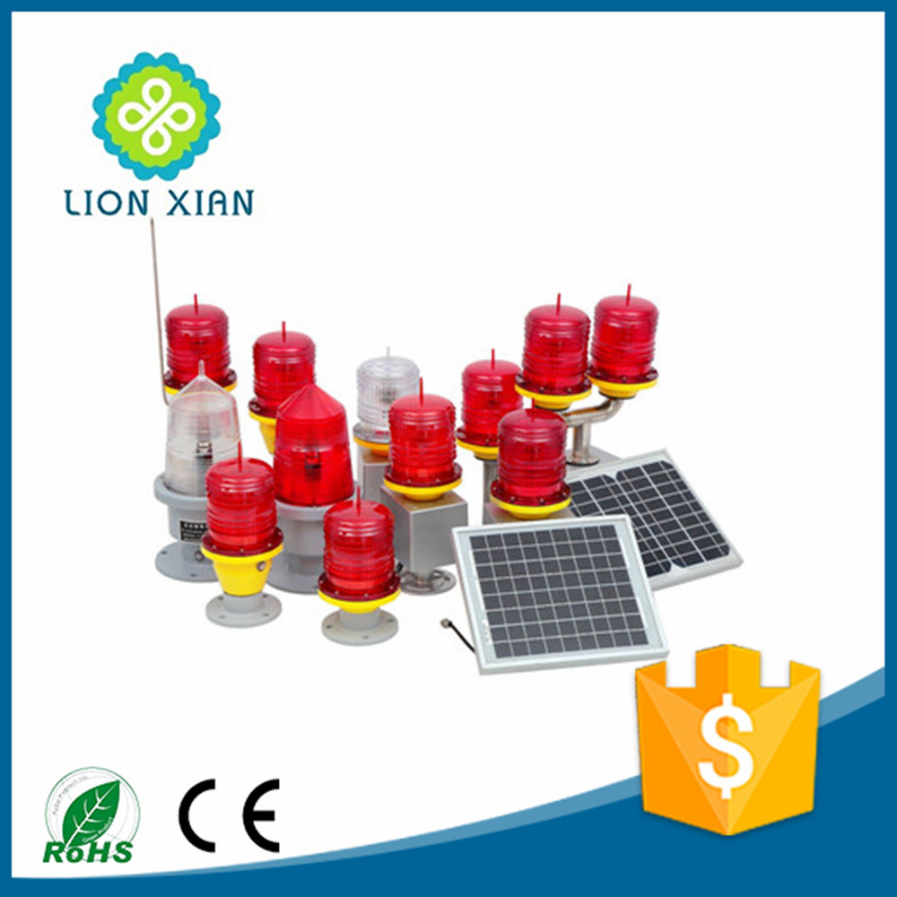 red emitting led obstruction light for telecom tower warning beacon light