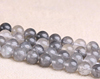 10mm round natural cloudy quartz beads round shape loose gemstone