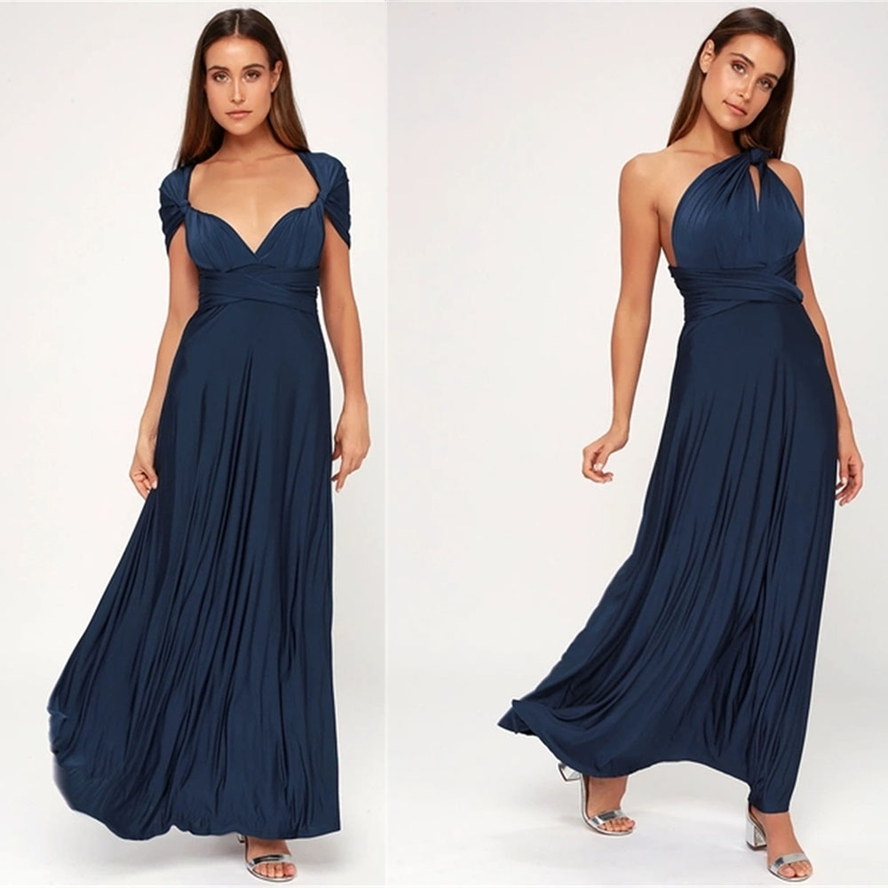 0a47442f295 Maternity Dresses Summer Long Maxi Convertible Wrap Gown Bridesmaid Bandage  Dress For Women Clothes Pregnancy Clothing